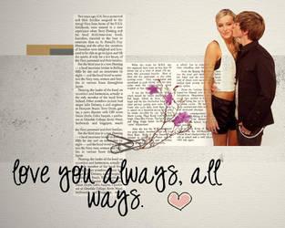 Love you always, all ways by camiluchiiz