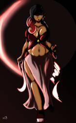 Wolf Blood Moon-sama by ShaozChampion