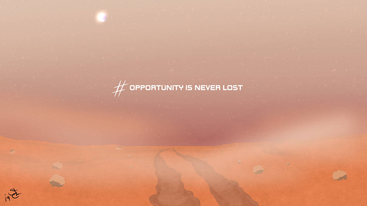 Opportunity is Never Lost by ShaozChampion