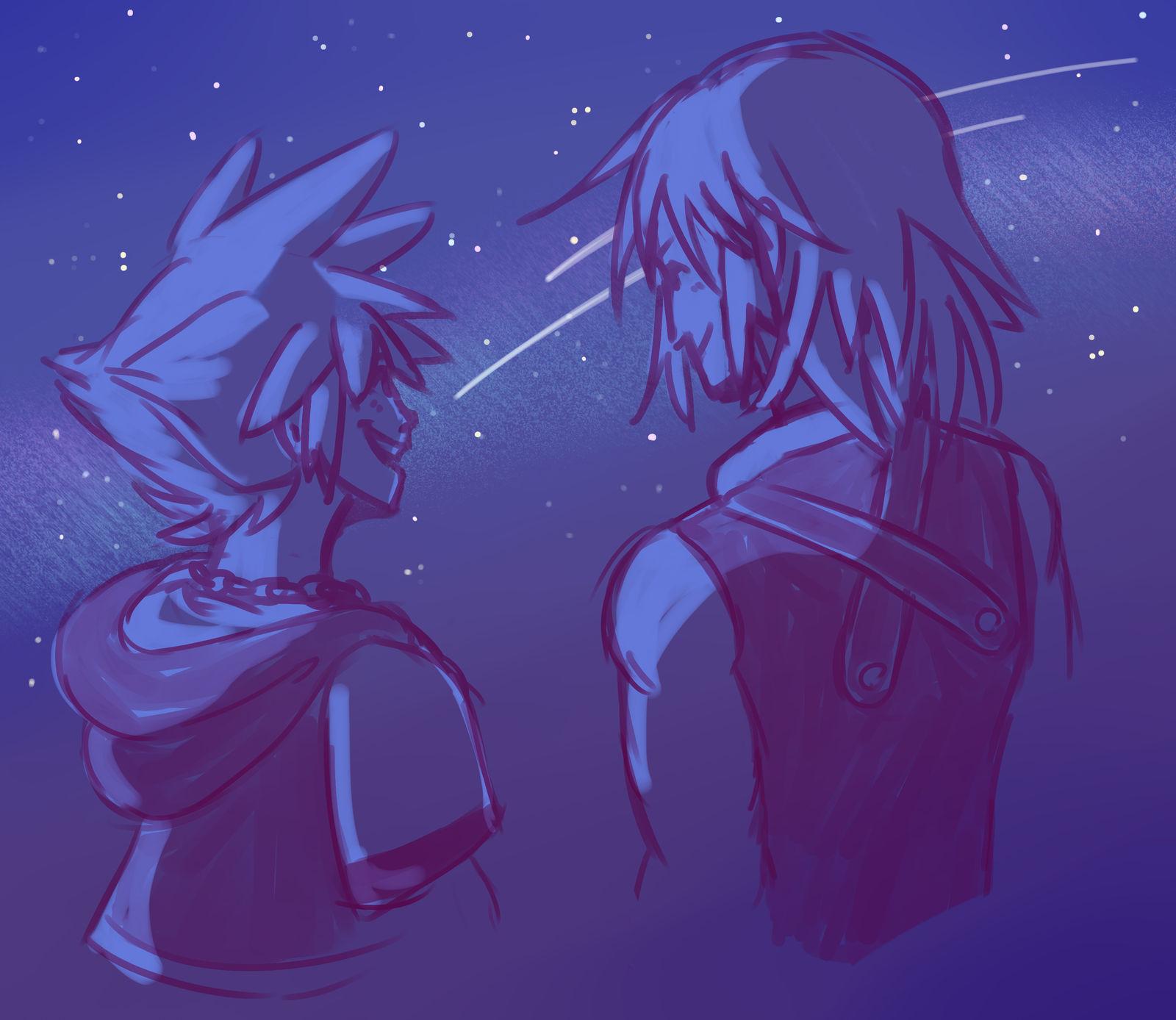 Under those stars by Nikutsune