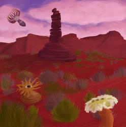 Desert by Potatoskin