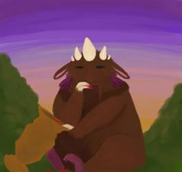 Monster Munchin by Potatoskin