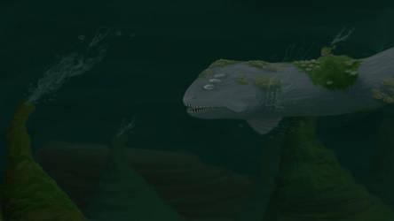 Ancient Eel Swimmin by Potatoskin