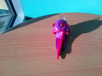Jellyfish Keychain by Potatoskin