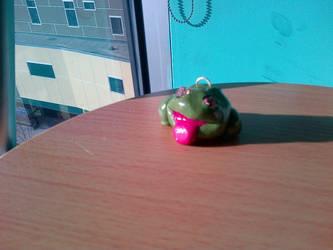 Frog Keychain by Potatoskin