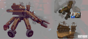 Earthrise Concepts 17 by Mattinian