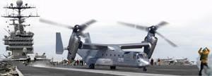 Bell-Boeing CV-22C Long Osprey by Bispro