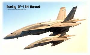 Boeing QF-18H Hornet UCAV by Bispro