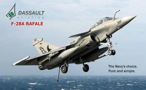 U.S Navy Dassault F-28A Rafale by Bispro