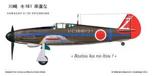 Kawasaki Ki-161 Sotchokuna by Bispro