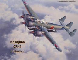 Nakajima C7N1 Taiun by Bispro