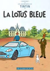 Tintin - La Lotus bleue by Bispro