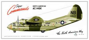 North American AC-146K Super Commando by Bispro
