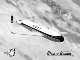 Gloster ''Gannet'' early jetliner by Bispro
