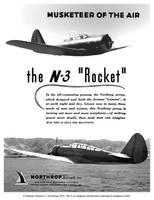 Northrop N-3 'Rocket', Musketeer of the Air by Bispro