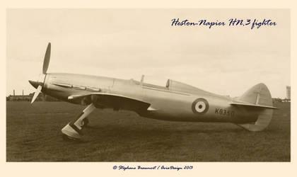 Heston-Napier HN.3 Fighter by Bispro