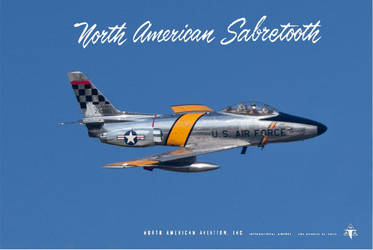 North American AF-86M ''Sabretooth'' by Bispro