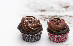Chocolate makes you happy Cupcakes by Cailleanne