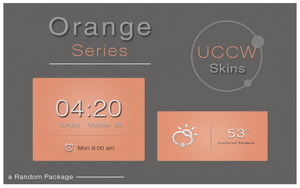 Orange Series for #UCCW by AlexJMiller