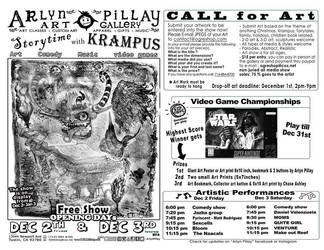 Story Time with Krampus Art and Music Show by ArlynPillay