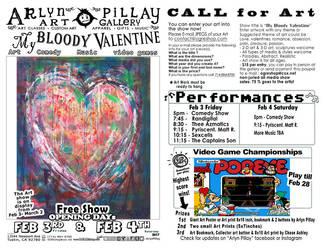 My Bloody Valentine Art Show by ArlynPillay