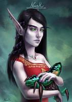 Warcraft Commission: Melyssine by Naariel
