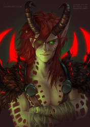 Blood Elf Demon Hunter [C] by Naariel