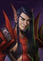Blood Elf Rogue [C] by Naariel