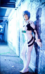 Rei Ayanami - Plugsuit III by JuriaScarlet