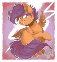 Scootaloo by AlleycatIrony