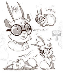 Electroll Doodles by AlleycatIrony