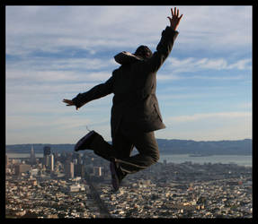Fly High over SF by warwatcher