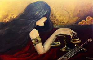 Themis Lady Justice by KareemsBlackBook