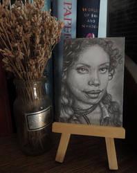 Firefly: Zoe Washburne ACEO by paintbigflowers