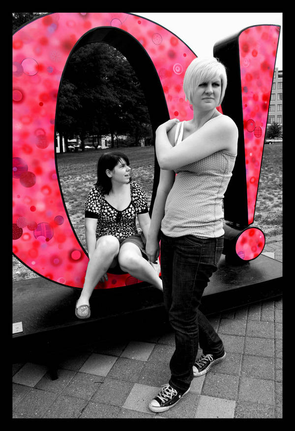 O is for Omaha: Pink O by thelaststraw