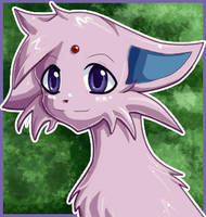 Little Espeon by BlueDelta