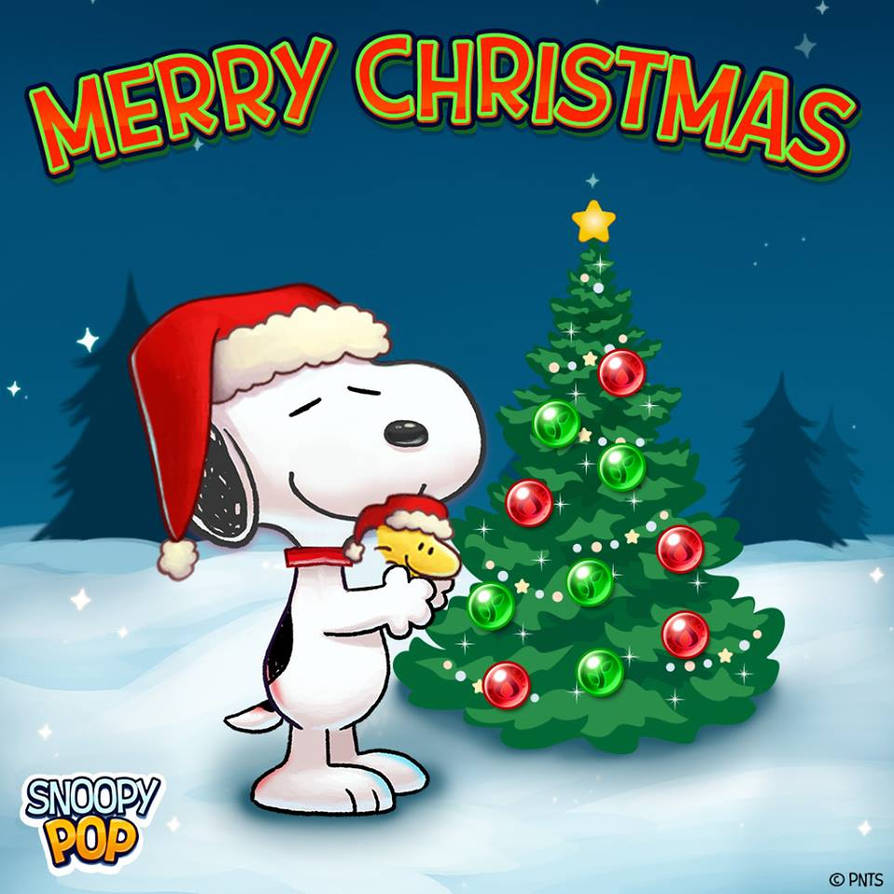 Snoopy Merry Christmas Images.Snoopy Pop Merry Christmas By Bradsnoopy97 On Deviantart