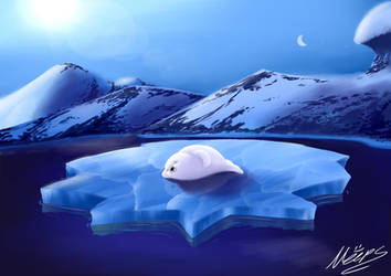 Fluffy Island by Meepstro