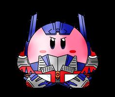 Kirbyformers 2 HD: Optimus Prime (Movie) by Kirby-Force
