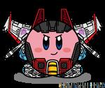 Kirbyformers 3: Starscream (G1) by Kirby-Force