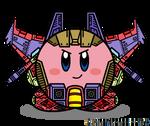 Kirbyformers 3: Thundercracker (SG) by Kirby-Force