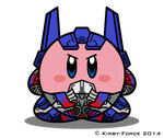 Kirbyformers 3: Optimus Prime (AoE) by Kirby-Force