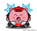 Kirbyformers 3: Red Alert (G1) - Freakout by Kirby-Force