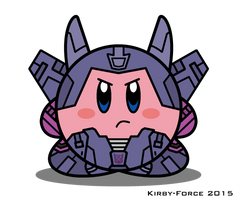 Kirbyformers 3: Cyclonus (G1) by Kirby-Force
