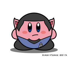 Kirby Star Trek: Spock (TOS) by Kirby-Force