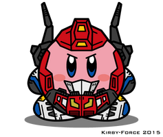Kirbyformers 3: Star Saber (Victory) by Kirby-Force