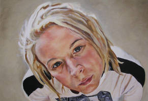 Self Portrait by AnnaGilhespy