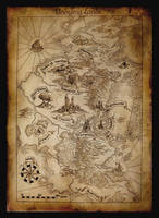 Map of Aman by amegusa