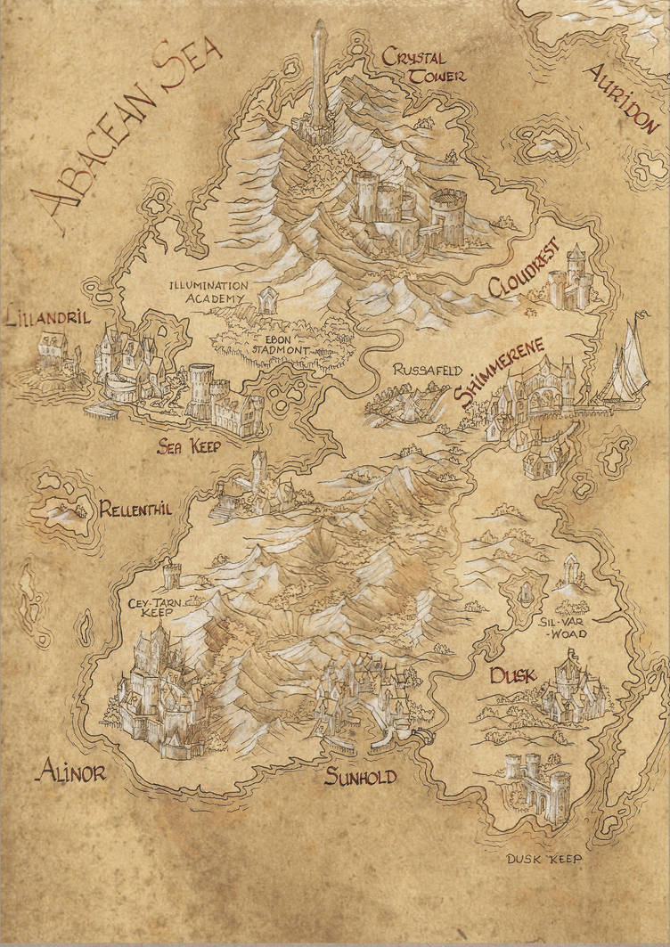 Summerset Map by amegusa