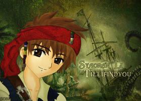 Syaoran Sparrow by sobloondie